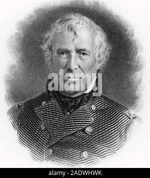 ZACHARY TAYLOR (1784-1850) 12th President of the United States - Stock Photo