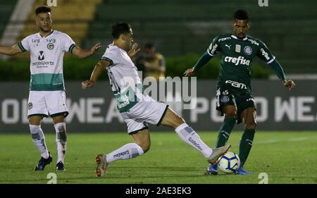 Campinas, Brazil. 05th Dec, 2019. seventh round of the Brazilian Championship, Serie A, at the Princess Earring Golden Stadium. Credit: Cesar Greco/FotoArena/Alamy Live News - Stock Photo