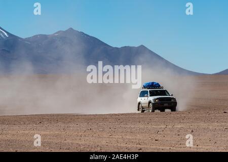 Desierto de Sololi, Sololi Dersert, Southern Altiplano, Southwest Bolivia, Latin America, - Stock Photo
