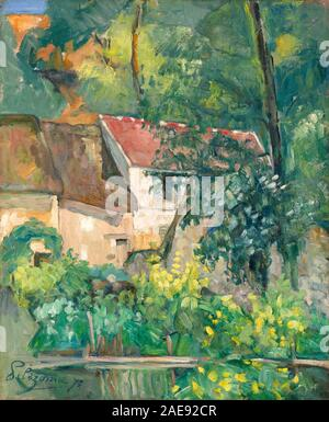 Paul Cézanne (French, 1839 - 1906), House of Père Lacroix, 1873, oil on canvas, Chester Dale Collection 1963.10.102 - Stock Photo