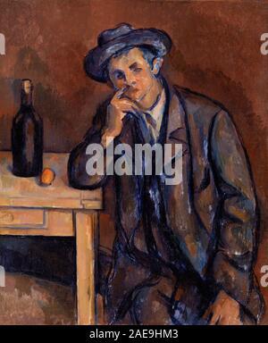 Vintage Paul Cezanne painting artwork Stock Photo