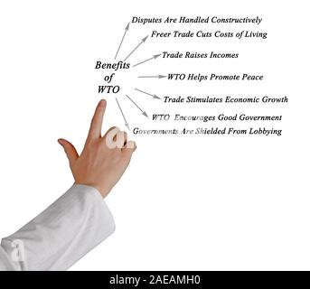 Benefits of WTO - Stock Photo