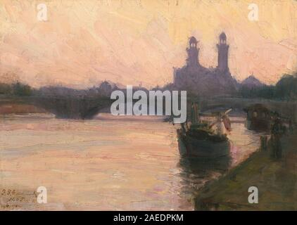 A33531.jpgHenry Ossawa Tanner, The Seine, c 1902 Henry Ossawa Tanner (American, 1859 - 1937), The Seine, c. 1902, oil on canvas, Gift of the Avalon Foundation 1971.57.1 - Stock Photo