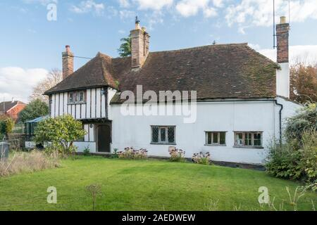 An ancient cottage in the village of Weavering, Kent, UK - Stock Photo