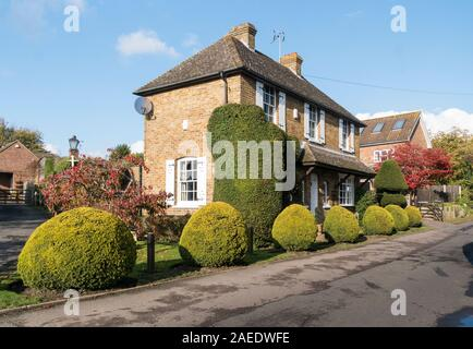 An old cottage in the village of Weavering, Kent, UK - Stock Photo