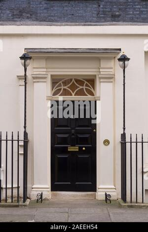 11 Downing Street the official residence of the British, Chancellor of the Exchequer London, UK  7 Feb 2018 - Stock Photo