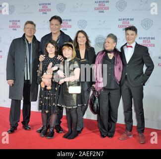 Regisseurin Caroline Link und die Darsteller Riva Krymalowski, Marinus Hohmann, Carla Juri, Oliver Masucci, - Stock Photo
