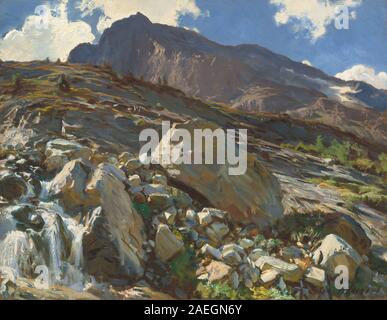 John Singer Sargent, Simplon Pass, 1911 Simplon Pass; 1911date - Stock Photo