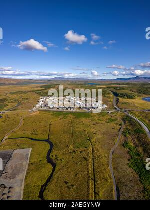 New Neighborhood, Ulfarsardalur, Reykjavik, Iceland - Stock Photo