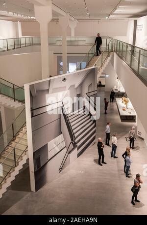 The Berlinische Galerie in Kreuzberg, Berlin, Germany - Stock Photo