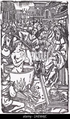 Probably French 16th Century, The Martyrdom of a Saint The Martyrdom of a Saint - Stock Photo
