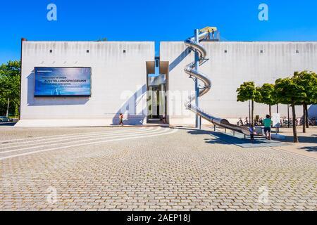 BONN, GERMANY - JUNE 29, 2018: Bundeskunsthalle or federal art and exhibition hall in Bonn city, Germany