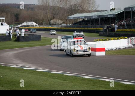 Goodwood Motor racing Chichester West Sussex - Stock Photo