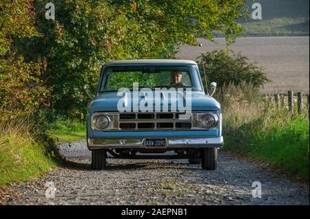 1969 Dodge 100 classic American pick up truck - Stock Photo
