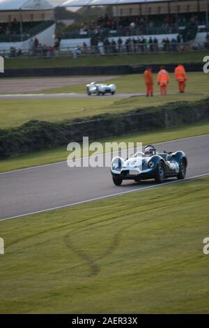 Sussex Trophy Goodwood Motor racing Chichester West Sussex - Stock Photo