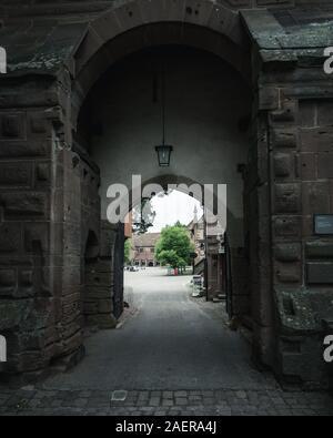 Weltkulturerbe Kloster Maulbronn im Naturpark Stromberg Heuchelberg - Stock Photo