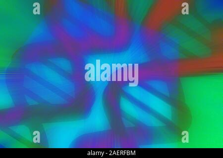 An abstract psychedelic blurry background image. - Stock Photo