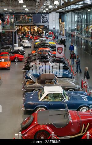 The Michael Schumacher collection at Motorworld in Cologne, Germany - Stock Photo