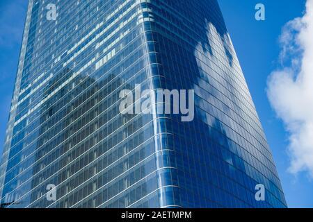 One Manhattan West, Buildings in or near Hudson yards development, Manhattan, New York City. - Stock Photo