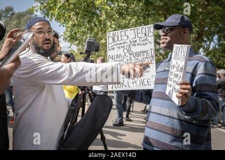 Mohammed Abdul Ahad (left), convicted at Old Bailey on 10th Dec 2019 under the Terrorism Act for four charges of disseminating terrorist material. - Stock Photo