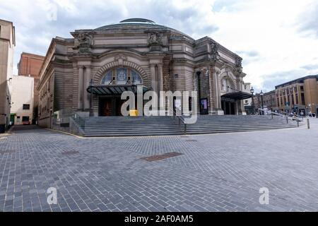 The Usher Hall as seen from Lothian Road, Edinburgh, Scotland, UK - Stock Photo