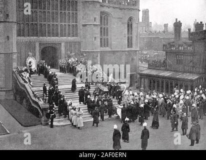 Queen Victorias Funeral - 2 February 1901   Today In