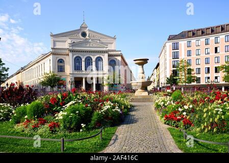 Europa, Deutschland, Bayern, Muenchen, Staatstheater am Gärtnerplatz, - Stock Photo