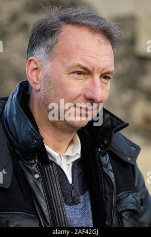 Bruno Bernard, EELV candidate to the presidence of Lyon Metrople, Lyon, France - Stock Photo