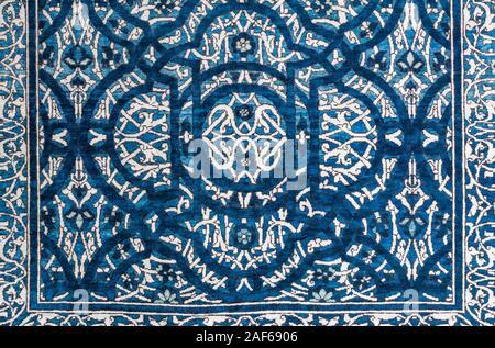 Asian carpet - Stock Photo