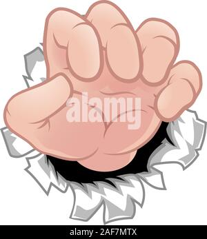 Monster Claw Cartoon Hand - Stock Photo