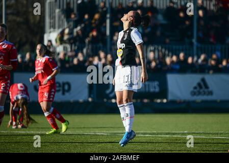 Barba Bonansea of Juventus in action during the Women Serie A match between Juventus and Bari Pink. Juventus won 2-0 over Bari Pink. In Vinovo at Juve - Stock Photo