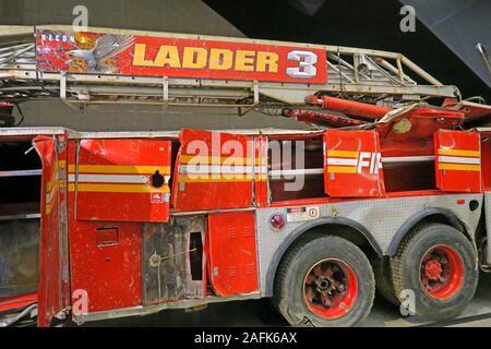 New York City Fire Department Ladder Company 3, 9/11,Ground Zero,World Trade Centre,Disaster,Manhattan,NY,USA