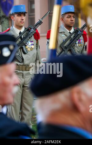 Celebration of the 75th anniversary of the Liberation, Strasbourg, Alsace, France - Stock Photo