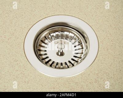 Sink Strainer On White Background Stock Photo 87929367