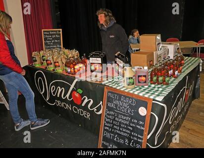 Ventons Devon Cyder,Mark,Sharon Venton, Bridgwater Food & Drink Festival 2019,taste of the west,foods,drink,Town hall - Stock Photo