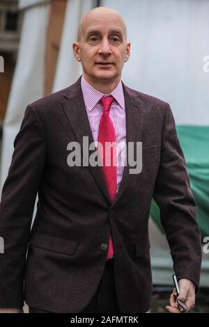 Westminster, London, 16th Dec 2019. Lord Adonis, Andrew Adonis, Labour peer. New and returning MPs, as well as peers and political commentators return to Westminster to be interviewed ahead of returning to Parliament tomorrow. Credit: Imageplotter/Alamy Live News - Stock Photo