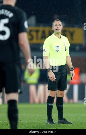 London, UK. 16th Dec, 2019. Referee, Craig Pawson during the Premier League match between Crystal Palace and Brighton and Hove Albion at Selhurst Park, London, England on 16 December 2019. Photo by Carlton Myrie/PRiME Media Images. Credit: PRiME Media Images/Alamy Live News - Stock Photo