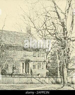 . Farmington, Connecticut, the village of beautiful homes. Stock Photo