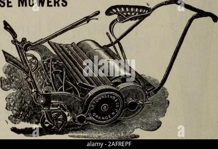 . Hardware merchandising August-October 1912. TOWNSEND MOWERS HAND MOWERS and HORSE MOWERS All Our Hand MowersAre Ball Bearing SENT ON THEIR MERITS Write for Catalog S. P. Townsend CEX Co. ORANGE. N. J.. HAMILTON (cSL) RIFLES Sell Well and Bring Good Profits - Stock Photo