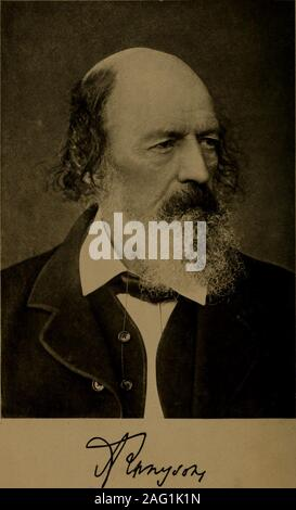 . The poetic and dramatic works of Alfred lord Tennyson. THE POETIC ANDDRAMATIC WORKS OF ALFRED ; LORD TENNYSON Hifirarp oE&ition whn ONE HUNDRED AND THIRTY-FIVEILLUSTRATIONSpoeticdramaticwo01tenn - Stock Photo