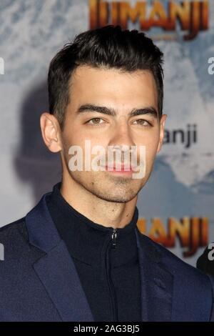 "Los Angeles, USA. 09th Dec, 2019. Joe Jonas 12/09/2019 ""Jumanji: The Next Level"" Premiere held at the TCL Chinese Theatre in Hollywood, CA Credit: Cronos/Alamy Live News - Stock Photo"