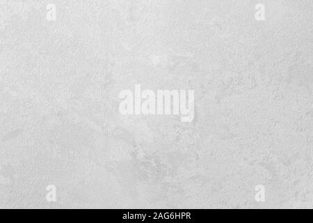 Texture of gray and white decorative plaster. Abstract background for design. Monochrome. - Stock Photo