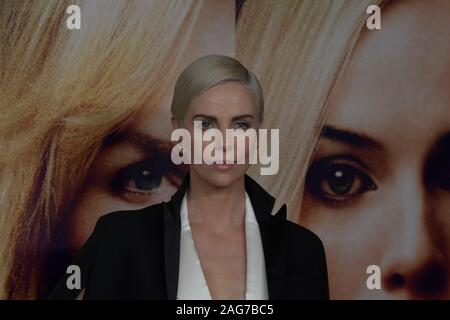 New York, United States. 17th Dec, 2019. Charlize Theron attends the Bombshell New York Screening at Jazz at Lincoln Center in New York City. Credit: SOPA Images Limited/Alamy Live News - Stock Photo