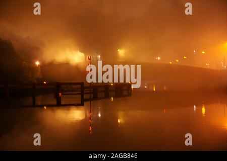 New South Wales bushfires - Stock Photo
