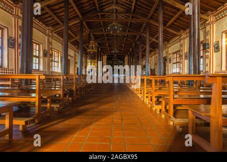 Mission Church of San José de Chiquitos, Jesuit Mission, Mission Circuit, Unesco World Heritage, Eastern Lowlands, Bolovia, Latin America - Stock Photo