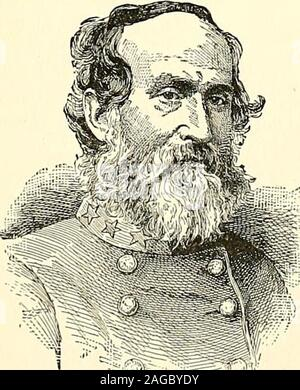 . Gen. Robert Edward Lee; soldier, citizen, and Christian patriot. GENERAI, JAMES GENERAL LAFAYETTE MCLAWS. roads lead from this point to the rear of General Lees positionat Fredericksburg. It is in this position at Chancellorsville thatwe left Hooker with four corps of his army. The continued inactivity of the enemy at Fredericksburg madeit now certain that the main attack would be made upon GeneralLees flank and rear. Accordingly a suf&cient force was left to. - Stock Photo