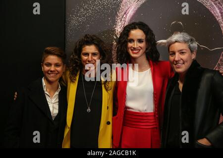 Milano, Italy, 18 Dec 2019, bonansea, bergamaschi, giuliano,terenzio during Gazzetta Sports Awards  - Events - Credit: LPS/Mattia Martegani/Alamy Live News - Stock Photo