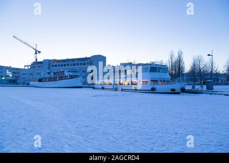 Kuopio in the winter - Stock Photo