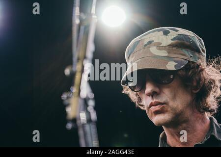 Kvaerndrup, Denmark. 01st, June 2019. The English singer, songwriter and musician Richard Ashcroft performs a live concert during the Danish music festival Heartland Festival 2019. (Photo credit: Gonzales Photo - Mathias Kristensen). - Stock Photo