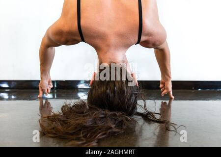 headstand sequence stock photo 114772088  alamy